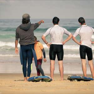 école de surf Lit et Mixe